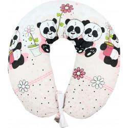 Perna de alaptat cu husa sweet panda roz