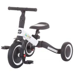 Tricicleta si bicicleta Chipolino Smarty 2 in 1 white