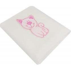 Paturica polar pisicuta roz