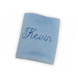 Paturica personalizata albastru